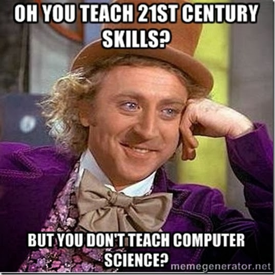 Computer Science Teacher: How is Computer Science NOT a 21st ...